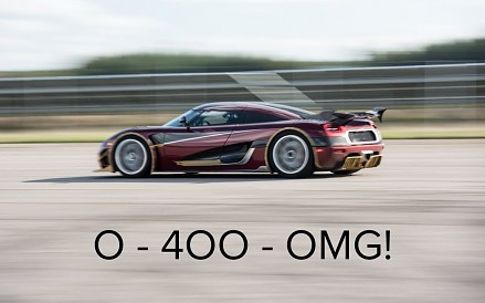 Koenigsegg Agera RS i nowy rekord 0-400-0 km/h