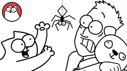 Simon boi się pająków, czyli nowe przygody jego kota