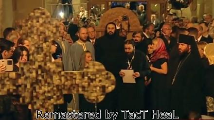 Gruzińscy chrześcijanie śpiewają po aramejsku Psalm 53 dla papieża Franciszka