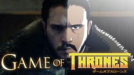 A gdyby Gra o Tron była nakręcona jako anime?