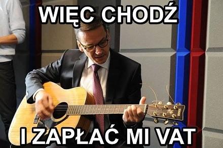 Muzyczne memy z Mateuszem Morawieckim