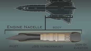 Jak działa J58 Ramjet - silnik legendarnego SR-71 Blackbird