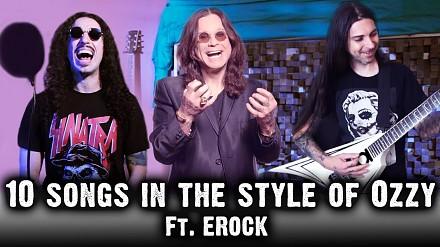 10 piosenek w stylu Ozzy'ego Osbourne'a