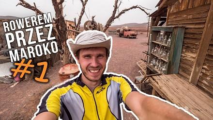 Porzucony plan filmowy znanego horroru! Podróż rowerem przez Maroko