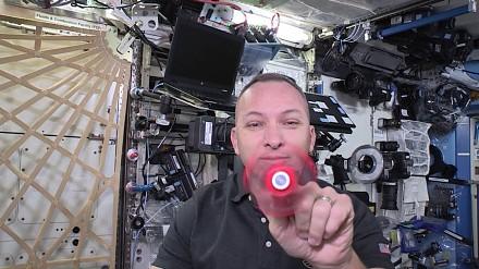Fidget spiner w kosmosie prosto od NASA