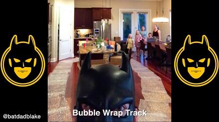 Gdyby twój ojciec był Batmanem, to zachowywałby się w ten sposób