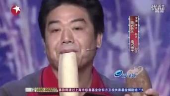 Instrumentarium epoki wegańskiej w azjatyckim Mam Talent