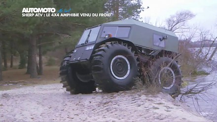 Sherp ATV – miniaturowy terenowy potwór