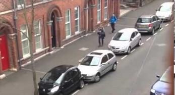 Kobieta próbuje przez 15 minut zaparkować auto