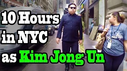 Sobowtór Kim Jong Una przez 10 godzin przechadzał się po Nowym Jorku