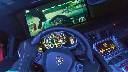 Przerobił Lamborghini Aventador na pada do Xboxa