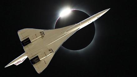 Concorde, pościg za zaćmieniem Słońca w 1973 roku