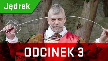 Jędrek, kasztelan zamku Chojnik, opowiada ciekawostki historyczne