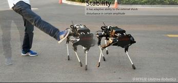 Chińska kopia robota Spot (tego od Boston Dynamics)