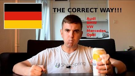 Jak poprawnie wymawiać nazwy niemieckich samochodów?