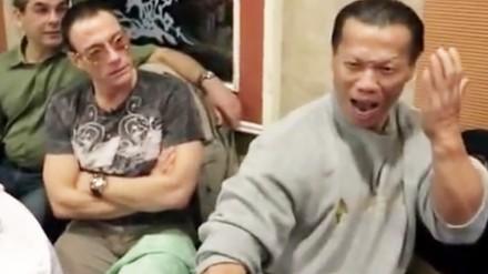 Jean-Claude Van Damme i Bolo Yeung, spotkanie legend po latach