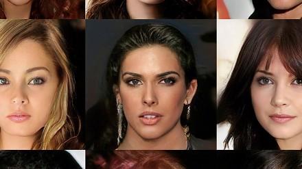 Proceduralnie generowane twarze