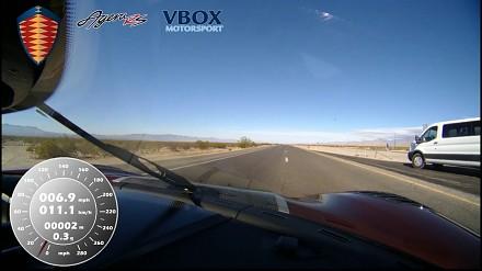 Koenigsegg Agera RS najszybszym samochodem świata
