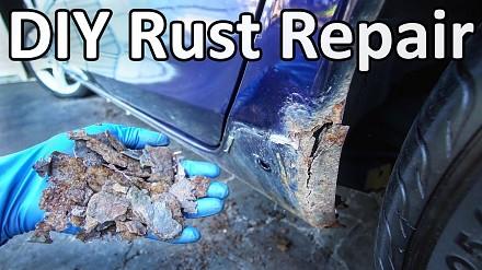 Jak samodzielnie usunąć rdzę i zrobić zaprawkę na samochodzie?