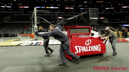 Wymiana parkietów NBA w Los Angeles