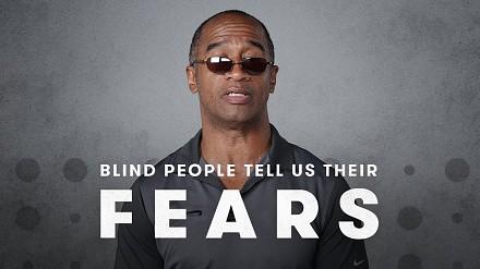 Czego boją się niewidomi?