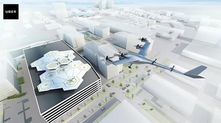 Uber planuje z NASA uruchomić bezzałogowy transport powietrzny