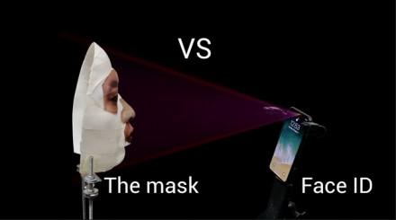Super bezpieczny iPhone X odblokowany przy pomocy maski