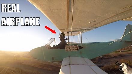 Zrób to sam: elektryczny samolot