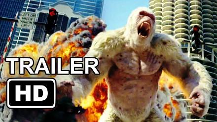 Zwiastun filmu o gorylu - Rampage