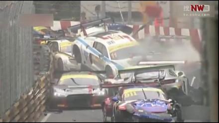Gigantyczny karambol podczas wyścigu w Makau