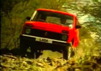 Reklama Łady stworzona na rynek brytyjski - 1980 rok