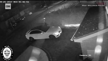 Kradzież mercedesa wyposażonego w system keyless go