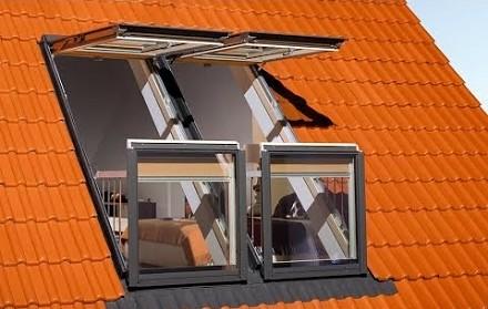 Okno z opcją balkonu