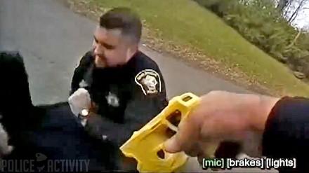 Policjant z Ohio przypadkowo poraził swojego partnera podczas aresztowania