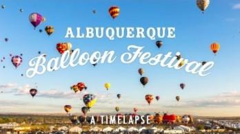 Piękny timelapse: Festiwal Balonów w Albuquerque
