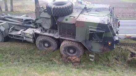 Amerykańskie wozy bojowe zostały pokonane przez... polskie drogi