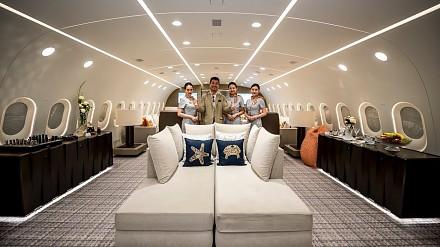 Jedyny na świecie prywatny Boeing 787 Dreamliner!
