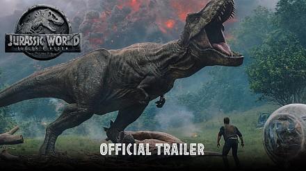 Jurassic World: Upadłe królestwo - oficjalny zwiastun