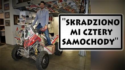 Rafałowi Sonikowi ukradli cztery samochody