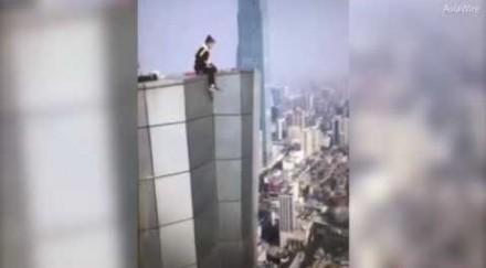 Wu Yongning spadł z 62 piętra wieżowca