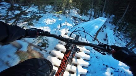 Zimowy freeride MTB na najwyższym poziomie