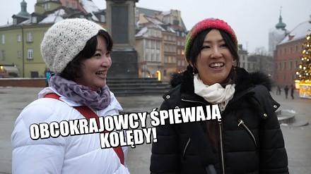Obcokrajowcy śpiewają polskie kolędy