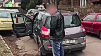 Pijany kierowca powoduje kolizję i ucieka z miejsca zdarzenia
