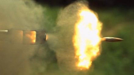 Barrett .50 cal w zwolnionym tempie - The Slow Mo Guys