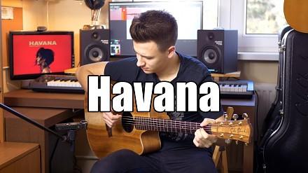 """""""Havana"""" zagrana na jednej gitarze w wykonaniu Polaka"""