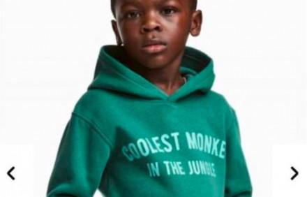 "Wielka wpadka H&M. Ubrali Murzynka w bluzę ""Coolest monkey in the jungle"""