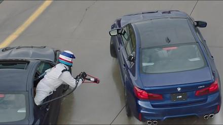 Jak BMW odzyskało stracony rekord Guinnessa długości pojedynczego driftu?