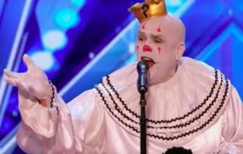 """Smutny klaun w amerykańskim """"Mam talent!"""""""