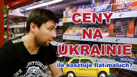 Porównanie cen podstawowych produktów na Ukrainie i w Polsce