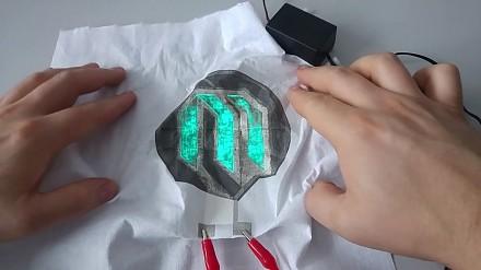 Wyświetlacz elastyczny prosto z Politechniki Warszawskiej